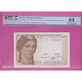 300 Francs Serveau SPL ND1992