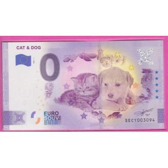 ITALIE CAT & DOG BILLET...