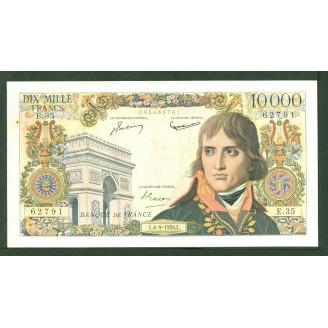10000 Francs Bonaparte E 35...