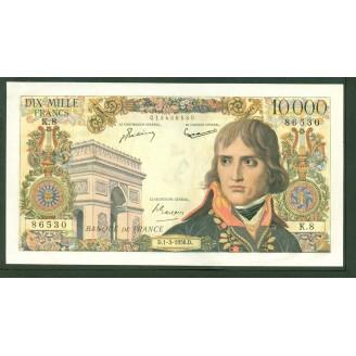 10000 Francs Bonaparte K 8...