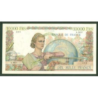 10000 Francs Etude A 3657