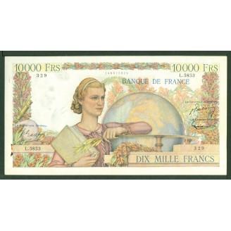 10000 Francs Etude L 5853
