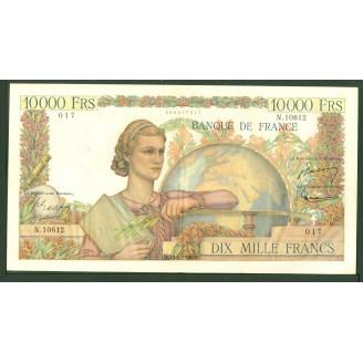 10000 Francs Etude N 10612