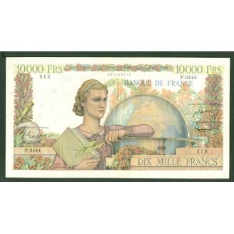 10000 Francs Etude P 3444