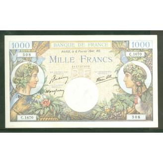 1000 Francs Commerce...