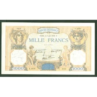 1000 Francs Cérès et...
