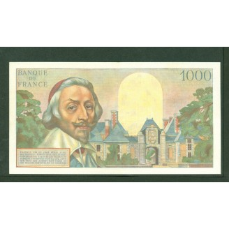 1000 Francs Richelieu 1954 J58