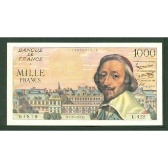 1000 Francs Richelieu...