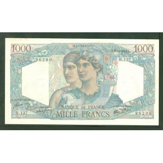 1000 Francs Minerve et...