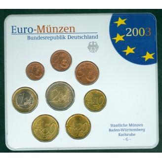 Allemagne  2003  BU LETTRE G