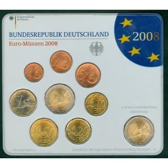 Allemagne  2008 BU LETTRE F