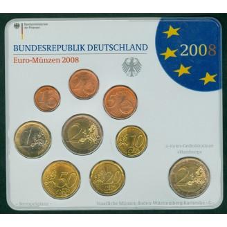 Allemagne  2008 BU LETTRE G
