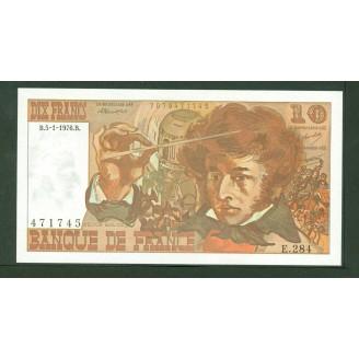 10 Francs Berlioz 5-1-1976...