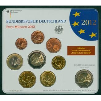 Allemagne  2012 BU LETTRE G