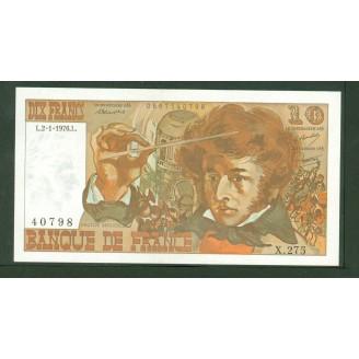 10 Francs Berlioz 2-1-1975...