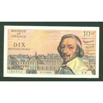 10 Francs Richelieu...