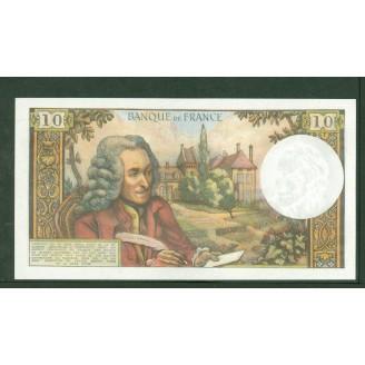 10 Francs Voltaire 4-1-1968...