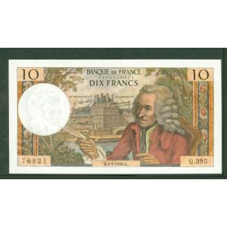 10 Francs Voltaire 2-3-1967...