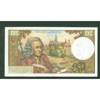 10 Francs Voltaire 7-9-1972...