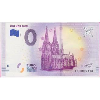 Allemagne Kolner Dom 0 Euro...