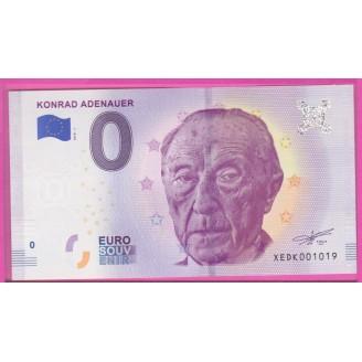 Allemagne Konrad Adenauer...