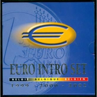 Belgique BU 1999 2000 2001