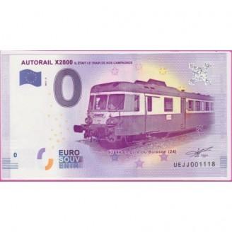 24 Autorail X2800 0 Euro...