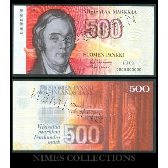 Finlande SPECIMEN 500...