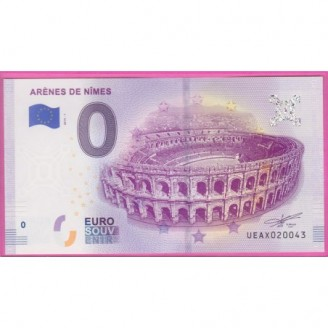 30 Arènes de Nîmes Billet 0...