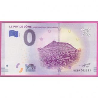 63 Le Puy de Dôme Billet 0...