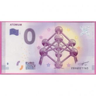 Belgique Atomiun Billet 0...