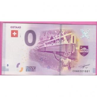 Suisse Gstaad Billet 0 Euro...