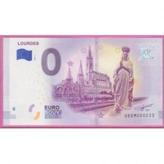 65 Lourdes billet 0 Euro...
