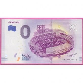 Espagne Camp Nou Billet 0...