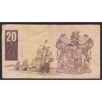 Afrique Du Sud 20 Rand...