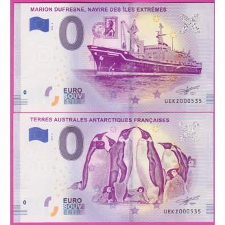 2 BILLETS SOUVENIR...