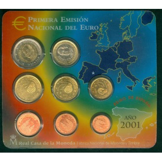 Espagne BU 2001