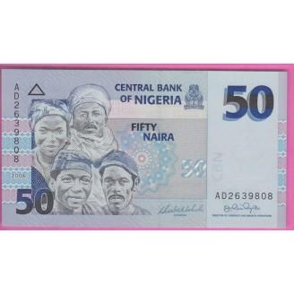 Nigeria 50 Naira P.35a Neuf...
