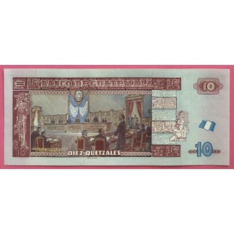 10 Quetzales P123c Neuf UNC...