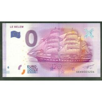 37 Le Belem 0 Euro Billet...
