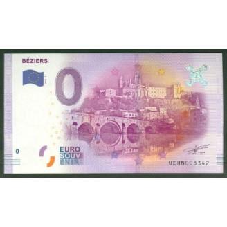 34 Beziers 0 Euro Billet...