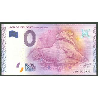 90 Lion De Belfort 0 Euro...