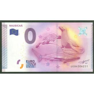 62 Nausicaa 0 Euro Billet...