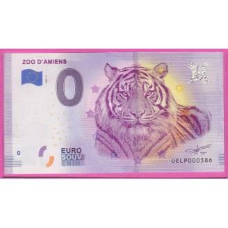 80 ZOO D'AMIENS  0 EURO 2020-2
