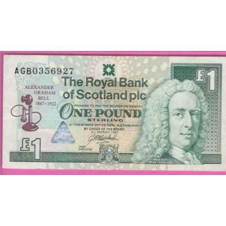 Ecosse P.359 Pr TTB 1 Pound...