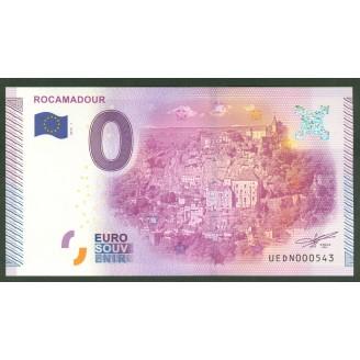 46 Rocamadour 0 Euro Billet...