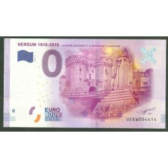 55 Verdun 0 Euro Billet...