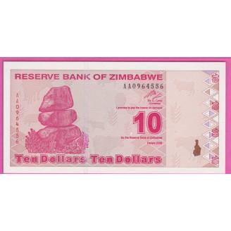Zimbabwe P.94 Neuf UNC 10...