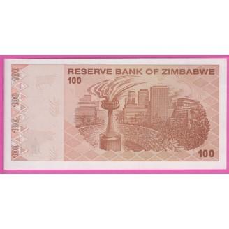 Zimbabwe P.97 Neuf UNC 100...