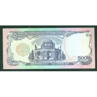 Afghanistan 5000 Afghanis P...